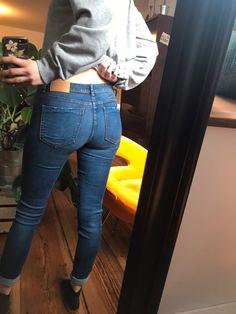 Jeans von Zara - Kleiderkreisel Sexy Jeans, Skinny Jeans, Tops For Leggings, Leggings Are Not Pants, Bikini Sets, Girls Jeans, Outfit, Zara, Tights