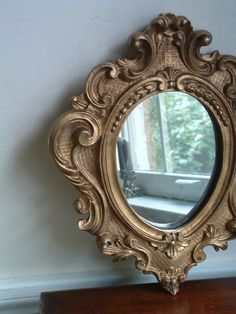 Vintage mirror- add mary poppins hat to mirror and kids can trace their reflections with a dry erase marker?