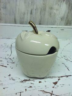 Festive Apple pot with lid £14.00