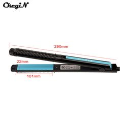 110-240V 38W 20Seconds Fast Heating Temperature Control Corn Plate hair Straightener corrugated iron Styling Tool HS97-S4445 #clothing,#shoes,#jewelry,#women,#men,#hats,#watches,#belts,#fashion,#style