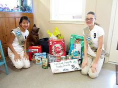 Girl Scout Cadettes Earn Silver for Helping Animals