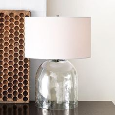 #West Elm                 #table                    #Bell #Table #Lamp        Bell Jar Table Lamp                                 http://www.seapai.com/product.aspx?PID=299856