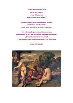 Reiner M. Rilke y Giorgione
