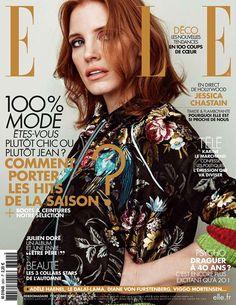 Джессика Честейн в ELLE France (Интернет-журнал ETODAY)