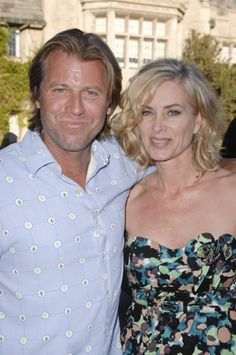 Eileen Davidson and Vince Van Patten