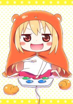 Happy Stars Shine The Brightest -{ Maybeanothername }× Kawaii Chibi, Cute Chibi, Kawaii Anime, Himouto Umaru Chan, Anime Character Names, Anime Characters, Moe Anime, Anime Manga, Death Note