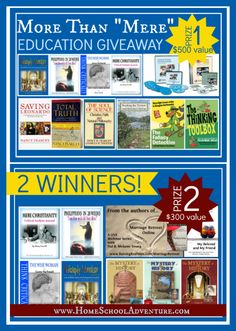 HUGE Give-away From The Homeschool Adventure Company!   My Journeys Through Life . . .
