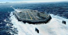 Submarine aircraft carrier.