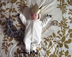 Where the wild things are costume.....I need this in a size 2T! Sounds like a DIY!