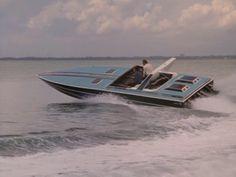 Crockett's Boat, 38' Wellcraft Scarab. (1985)