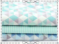 *Material*: 100 % Baumwolle *Stoffbreite*: 160 cm *Gewicht*: 115 g/qm *Muster*: Dreiecke *Musterhöhe*: ca. 0,5-1 cm  Wird meistens verwendet für Kleidung, Taschen, Bettwäsche, Vorhänge,...