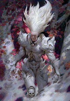 Fantasy Concept Art, Fantasy Character Design, Dark Fantasy Art, Fantasy Armor, Character Design Inspiration, Character Concept, Character Art, Anime Kunst, Anime Art