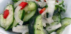 Avez-vous déjà entendu parler du programme minceur élaboré à base de concombre ?!