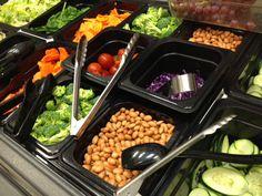 Variety bar - at least nine veggie available daily