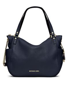 Chandler Leather Large Convertible Shoulder Bag | Lord and Taylor
