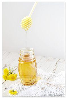 homemade dandelion syrup