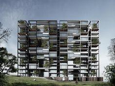 Bernard Khoury beirut | Bernard Khoury / DW5 - Project - Beirut Village (Plots # 02 & 03 ...