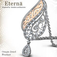Ornate Jewel Pendant A remarkable design with a dramatic flair that resembles an era of queens and kings; the Ornate Jewel Pendant is an inspiration of the eternal tree of Sidi Sayed Mosque. Pair with the Ornate Jewel earrings for a timeless look. Look what our designers have come up with - http://www.caratlane.com/jewellerycollection/eterna/ornate-jewel-pendant-jp00761-wrp900.html?tryathome=true_source=Pinterest_medium=ODigMa+Pins_campaign=Jewellery_content=JP00761-WRP900