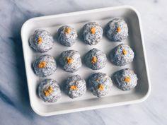 No-Bake Lemon Poppy Seed Glazed Donut Holes