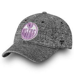 bba9dd86 Men's Edmonton Oilers Fanatics Branded Heathered Black 2018 Hockey Fights  Cancer Fundamental - Adjustable Hat, Your Price: $27.99 CAD