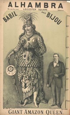 Highlights from the Victorian circus freak show (posters) - Flashbak Old Circus, Circus Art, Circus Theme, Dark Circus, Night Circus, Vintage Advertisements, Vintage Ads, Vintage Photos, Vintage Classics