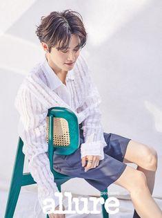 Suho - Allure Korea Magazine, May 2020 Issue Baekhyun Chanyeol, Kai, K Pop, Luhan And Kris, Big Bang Top, Pose, Kim Minseok, Xiuchen, Korean Boy