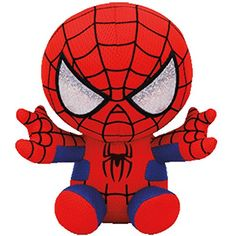 7450f55d501 TY SPIDERMAN MARVEL NEW Beanie Baby FREE GIFT BY SS TOYS MIAMI    You can