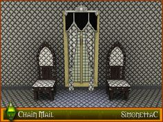 Chain Mail Pattern - Typical chain mail for your most gallant Knight.