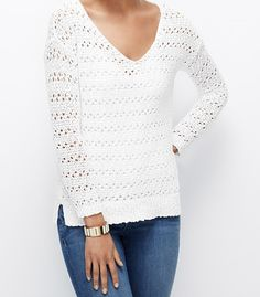 Great spring/summer sweater with a pair of jeans on the weekend