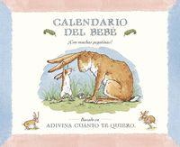 Calendario del bebe Sam Mcbratney, Stickers, Baby Kalender, Editorial, Products, Fabric Books, Calendar, Dishwasher Detergent, Bebe