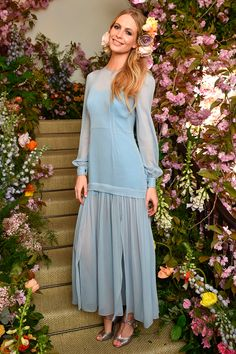 Poppy Delevingne in Saunders Studio party dress with Nicholas Kirkwood shoes - April 23, 2015