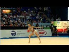 Eugenia Kanaeva Ball European Championship Nizhny Novgorod 2012  rhythmic gymnastics