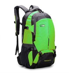 ebedcdf99e Amazon.com   qingstart Waterproof 45L Outdoor Travel Backpack Hiking  Backpack Daypack Camping Backpack (Black)   Sports   Outdoors