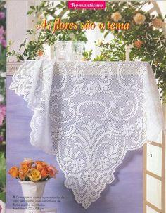 World crochet: Tablecloth 152