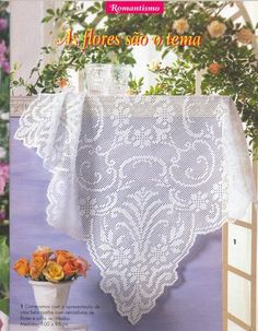 World crochet: Tablecloth 152