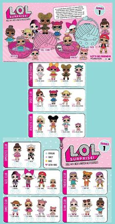 LOL Surprise! Dolls | Collector Poster |
