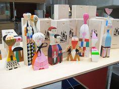 Alexander Girard, Vitra wooden dolls