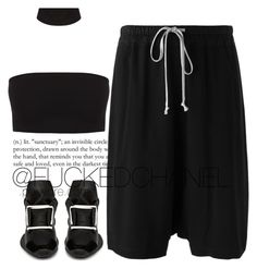RICKOWENS by fuckedchanel on Polyvore featuring polyvore, fashion, style, Rick Owens, adidas and clothing