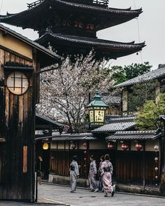 Mood at Kyoto .