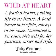 #wildatheart definition