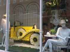 Chelsea flower show window display