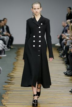On the catwalk at Céline Autumn-Winter 2014 Women Fashion Show #PFW #RTW #AW14 #Céline #LVMH via www.vogue.fr