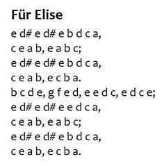fur elise key letters | Pinterest • The world's catalogue of ideas