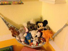 Peluche Animal hamac pour le stockage de jouet