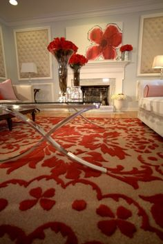 large painting propped on mantle Interiors | David Bromstad