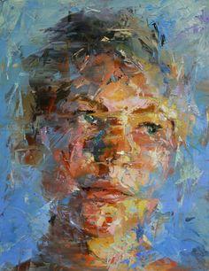 Pin by tom massari on portraits paul wright, painting, portrait art. Abstract Portrait, Portrait Art, Figure Painting, Painting & Drawing, Paul Wright, A Level Art, Figurative Art, Painting Inspiration, Female Art