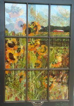 Old Window Pane Art | Window Panes | The Gun-Carryin' Librarian