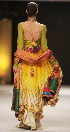 Bohemian Bridal wear, Nilofer Shadid, Pakistan