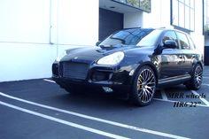 22 MRR HR6 Porsche Cayenne VW Touareg Audi Q7 Wheels and Tires Package