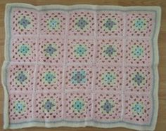 Crochet baby blanket crochet baby afghan by DonnasPinsandNeedles